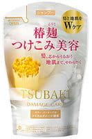 """SHISEIDO """"Tsubaki Damage Care"""" Шампунь """"Восстановление и уход"""" для повреждённых волос, с маслом камелии и аминокислотами, запасной блок, 380 мл."""