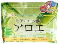 JAPAN GALS Курс натуральных масок для лица с экстрактом алоэ, 30 шт.