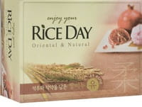 "CJ LION ""Riceday"" Мыло туалетное с экстрактом граната и пиона, 100 г."