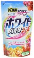 """Nihon """"White Bio gel Floral Bouquet"""" Гель для стирки с отбеливающей, дезодорирующей и смягчающей функцией, 810 мл. Сменная упаковка."""