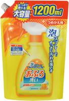 "NIPPON DETERGENT ""Foam spray Bathing Wash"" Чистящая спрей-пена для ванны, сменная упаковка, 1200 мл."