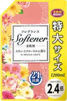"""Nihon """"Softener foral"""" Кондиционер для белья с цветочным ароматом, 1200 мл."""