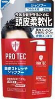 """LION """"Pro Tec"""" Мужской увлажняющий шампунь-гель с лёгким охлаждающим эффектом, 230 г."""