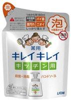 """Lion """"KireiKirei"""" Кухонное антибактериальное мыло-пенка для рук, с маслом цитрусовых, 180 мл."""