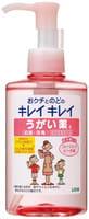 """LION """"Kirei Kirei"""" Дезинфицирующее средство для полости рта, с ментолово-персиковым вкусом - профилактика гриппа и ОРВИ, 200 мл."""
