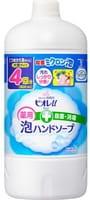 KAO «Biore U - Foaming Hand Mild Citrus Soap» Мыло-пенка для рук с антибактериальным эффектом, с легким ароматом цитруса, запасной блок, 800 мл.