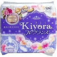 """Unicharm """"Sofy Kiyora Natural Relax"""" Ежедневные гигиенические прокладки с ароматом цветочного мускуса, 72 шт."""