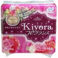 """Unicharm """"Sofy Kiyora Sweet"""" Ежедневные гигиенические прокладки с нежным ароматом розы, 72 шт."""