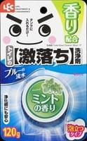 LEC Очищающая таблетка для бачка унитаза, с ароматом мяты, голубая, 120 г.