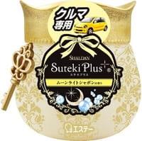 """ST """"Shaldan Suteki Plus"""" Ароматизатор гелевый для автомобиля, с ароматом свежести, 90 г."""