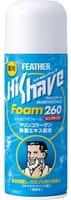 """Feather """"HiShave MarineStage"""" Пена для бритья с морским коллагеном и экстрактом водорослей, 260 г."""