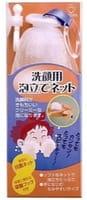 COTTON LABO Сеточка для взбивания пены, с антибактериальным эффектом, c вакуумной присоской и кольцом-держателем, 1 шт.