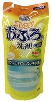 Mitsuei Спрей-пенка для удаления устойчивых загрязнений в ванной, с апельсиновым маслом, запасной блок, 350 мл.