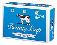 "COW ""Beauty Soap"" Туалетное мыло с молоком, с ароматом свежести, 135 г."