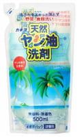 KANEYO Средство для мытья посуды, овощей и фруктов на основе натурального пальмового масла, запасной блок, 500 мл.