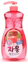 """Mukunghwa Премиальное антибактериальное средство для мытья посуды, овощей и фруктов в холодной воде """"Сочный грейпфрут"""", 1 л."""