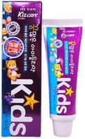"""MUKUNGHWA """"Kizcare Kids"""" Детская гелевая зубная паста, с ярким вкусом виноградного мороженого, с 2 лет, 75 гр."""