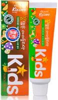 """Mukunghwa """"Kizcare Kids"""" Детская гелевая зубная паста, с ярким тропическим вкусом, с 2 лет, 75 г."""