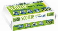 """Crecia """"Scottie"""" Бумажные прочные кухонные полотенца, двухслойные, 200 шт."""