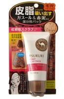 B&C Laboratories «Tsururi Mineral Clay Pack» Крем-маска для лица с глиной для Т-зоны, 55 г.