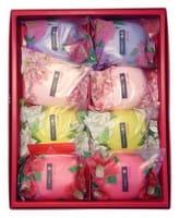 MASTER SOAP «Saika Dayori soap set» Набор мыла «Цветы и травы», 70 г х 8 шт.