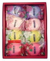 "Master Soap ""Saika Dayori soap set"" Набор мыла ""Цветы и травы"", 70 г х 8 шт."
