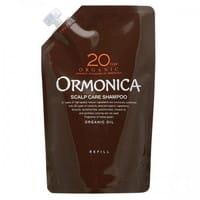 """Ormonica """"Organic Scalp Care Shampoo"""" Органический шампунь для ухода за волосами и кожей головы, сменная упаковка, 400 мл."""