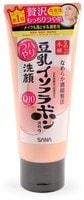 "Sana ""Soy Milk Moisture Cleansing Wash"" Пенка для умывания и снятия макияжа увлажняющая, с изофлавонами сои и капсулированным коэнзимом Q10, 150 г."