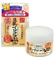 """Sana """"Soy Milk Night Cream"""" Крем ночной питательный с изофлавонами сои, 50 г."""