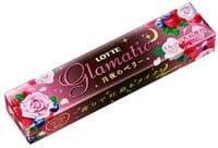 Lotte «Glamatic» Жевательная резинка со вкусом ягод и роз, мягкая упаковка, 14 шт.