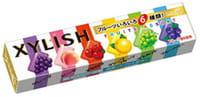 Meiji «Xylish» Жевательная резинка с фруктовым вкусом, ассорти, 12 шт.