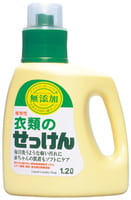 MIYOSHI 100% ЭКО! Жидкое средство для стирки изделий из хлопка на основе натуральных компонентов, 1200 мл.