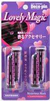 ST «Carenne Deco-Pin Lovely Magic» Ароматизатор-поглотитель неприятных запахов для автомобиля «Таинственный мускус», 4 шт.