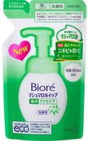 KAO «Biore» Пенка для лица с противовоспалительным эффектом, запасной блок, 130 мл.