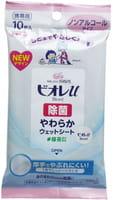 KAO «Biore U» Влажные антибактериальные салфетки для рук, без спирта, 10 шт.