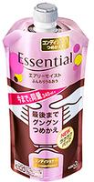 KAO «Essential» Увлажняющий и разглаживающий кондиционер для волос, с цветочным ароматом, запасной блок, 340 мл.