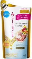 KAO «Asience Nature Smooth» Разглаживающий кондиционер для волос с маслом арганы и камелии, с ароматом белых цветов, запасной блок, 340 мл.