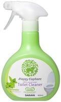 SARAYA «Happy Elephant» Универсальное моющее средство для туалета на основе натуральных компонентов (пенка), с ароматом мяты, 400 мл.