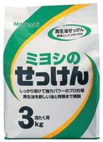 MIYOSHI Порошковое мыло для стирки на основе натуральных компонентов, 3 кг.