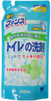 DAIICHI «Funs» Пенящееся моющее средство для туалета с дезинфицирующим эффектом, с освежающим мятным ароматом, запасной блок, 350 мл.