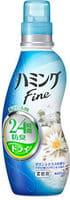 KAO «Hamming Fine» Кондиционер для белья с антибактериальным и дезодорирующим эффектом, с ароматом морской свежести и цитруса, 570 мл.