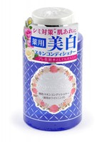 """Meishoku """"Skin Conditioner"""" Лосьон-кондиционер для кожи лица с экстрактом дамасской розы, с экстрактом плаценты и осветляющим эффектом, 200 мл."""
