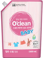 MUKUNGHWA «O`clean Baby Fabric Softener» Натуральный кондиционер для детского белья, запасной блок, 1,3 л.