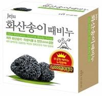 """Mukunghwa """"Jeju volcanic scoria scrab soap"""" Скраб-мыло для тела с вулканической солью, 100 гр."""