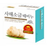 """Mukunghwa """"Dead sea salt scrab soap"""" Скраб-мыло для тела с солью Мёртвого моря, 100 гр."""