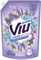 """Mukunghwa """"Aroma Viu Mediterranean Lavender"""" Антибактериальный кондиционер, с ароматом средиземноморской лаванды, запасной блок, 2,1 л."""