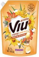 """Mukunghwa """"Aroma Viu Golden Mimosa"""" Антибактериальный кондиционер, с ароматом золотой мимозы, запасной блок, 2,1 л."""