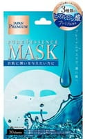 """Japan Gals """"Pure5 Essence Premium"""" Маска для лица c тремя видами гиалуроновой кислоты, 30 шт."""
