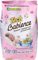 LG «Tech Super Ti» Стиральный порошок детский, для белых и цветных вещей, 1 кг.