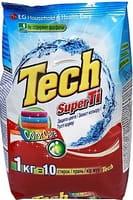 LG «Tech Super Ti» Стиральный порошок для цветных вещей, с функцией защиты цвета, 1 кг.